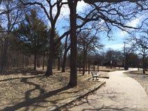 Ein Weg im Park Lizenzfreies Stockbild
