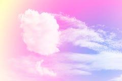 Ein weicher Wolkenhintergrund Stockfotografie