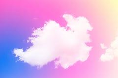 Ein weicher Wolkenhintergrund Lizenzfreie Stockbilder