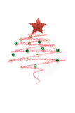 Ein Weihnachtsbaum gezeichnet stockfotografie