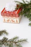 Ein Weihnachtsgeschenk Stockfotos