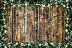 Ein Weihnachtshintergrund Stockbild