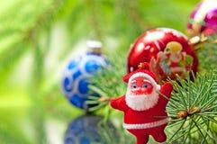 Ein Weihnachtshintergrund Stockfotografie