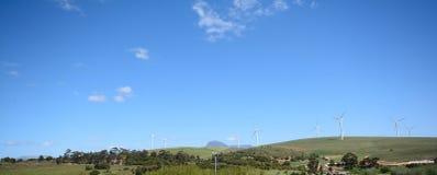 Ein Windbauernhof Stockfotos