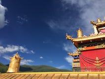 Ein Winkel in der Mandala Stockfotos
