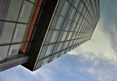 Ein Wolkenkratzer Lizenzfreie Stockfotos