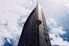 Ein Wolkenkratzer stockfotografie
