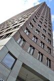 Ein Wolkenkratzer in Berlin Stockbild