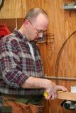 Ein Woodworker stockfotos