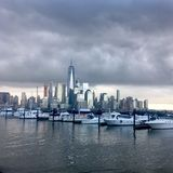 Ein World Trade Center lizenzfreie stockbilder