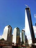 Ein World Trade Center-Aufbau Lizenzfreie Stockbilder