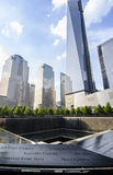 Ein World Trade Center, Bodennullpunkt-Denkmal Lizenzfreies Stockbild