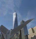 Ein World Trade Center, New York, USA, Freiheitsturm Lizenzfreie Stockbilder