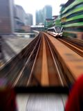 Ein Zug Stockbild
