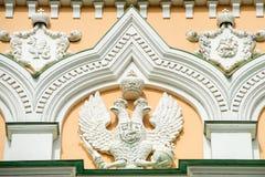 Ein zwei-köpfiger Adler - Russland-` s Wappen Stockfotografie