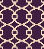Ein zweifarbiges Muster des einfachen Gitters des Vektors Stockfoto