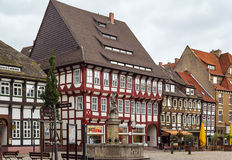 Einbeck downtown, Germany Stock Photography
