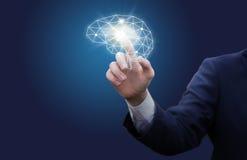 Einbeziehung einer effektiven Geschäftsdenkrichtung Stockbild