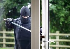 Einbrecher Stockbild