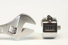 Eind van 2012 Royalty-vrije Stock Afbeelding