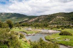 Eind van de Wereld, Tierra del Fuego Royalty-vrije Stock Afbeelding