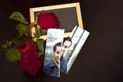Eind van liefde royalty-vrije stock afbeeldingen