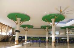 Eindb in de Internationale Luchthaven van Punta Cana Stock Foto