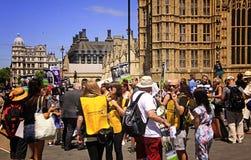 Einde Live Animal Exports Protest van het UK Londen Royalty-vrije Stock Fotografie