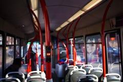 Eindeknoop in een bus, selectieve nadruk royalty-vrije stock foto