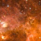 Eindeloos Heelal Elementen van dit die beeld door NASA wordt geleverd stock foto