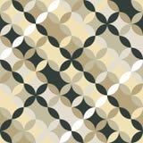 Eindeloos rond patroon Gebaseerd op Traditioneel Japans Borduurwerk royalty-vrije illustratie