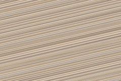 Eindeloze achtergrond met diagonale beige het canvassteel van de lijnentekening Stock Fotografie