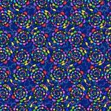 Eindeloze achtergrond van abstracte bloemen vector illustratie