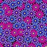 Eindeloze bloemenachtergrond Stock Foto