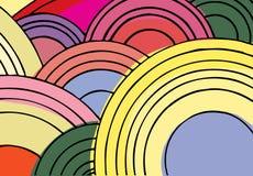 Eindeloze Cirkels I Royalty-vrije Stock Afbeelding