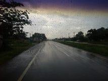 Eindeloze Regen Stock Afbeeldingen