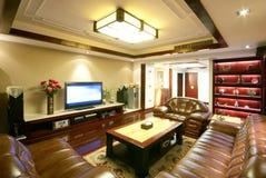 Eindeutige Dekoration und bequemes Haus Lizenzfreie Stockbilder