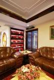 Eindeutige Dekoration und bequemes Haus Lizenzfreies Stockfoto
