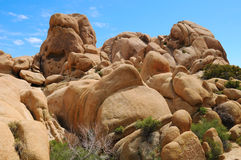 Eindeutige Felsen-Anordnungen lizenzfreie stockbilder
