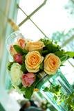 Eindeutiger Blumenblumenstrauß Lizenzfreie Stockfotografie