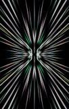 Eindeutiger Hintergrund Streifen laufen zu den Rändern auseinander Stockbilder