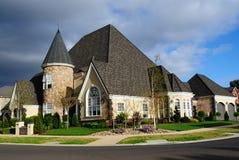 Eindeutiges Familienkontrollturmhaus Lizenzfreies Stockfoto