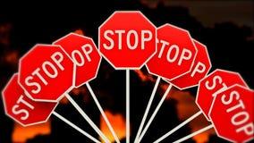 EINDEverontreiniging van de planeet Het globale verwarmen Emissies van schadelijke stoffen 30 stock videobeelden