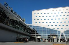 Eindhoven Airport arrival and departure hall Royalty Free Stock Photography