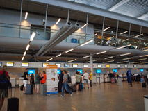 Eindhoven airport, Netherlands Stock Photography