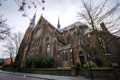 Eindhoven centrum och gator, Nederländerna Arkivfoto