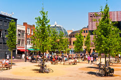 Eindhoven City Center on a beautiful summer day Stock Image