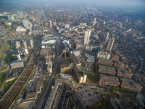 Eindhoven Cityscape, Netherlands. Eindhoven Cityscape, Netherlands from above stock photography