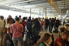 Eindhoven flygplats Fotografering för Bildbyråer
