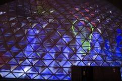 Eindhoven, holandie - Listopad 16 2017 kropla przy 18 septemberplein podczas Jarzeniowego festiwalu Obrazy Royalty Free